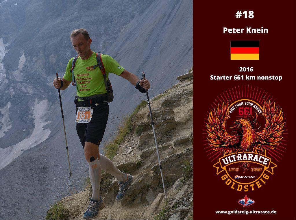 Peter UltraTriathlet und -Läufer Logo